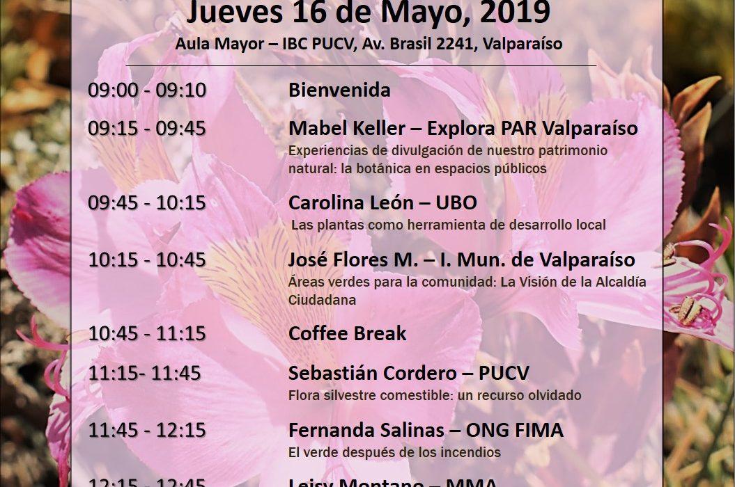 Seminario de Botánica «Celebrando el Día Internacional de la Fascinación por las Plantas»