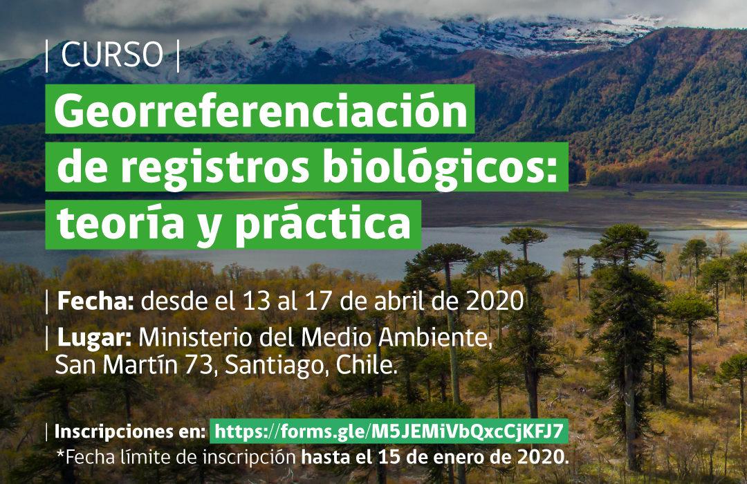 Convocatoria Curso «Georreferenciación de registros biológicos: teoría y práctica»
